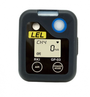 RKI Single CO Gas Monitor